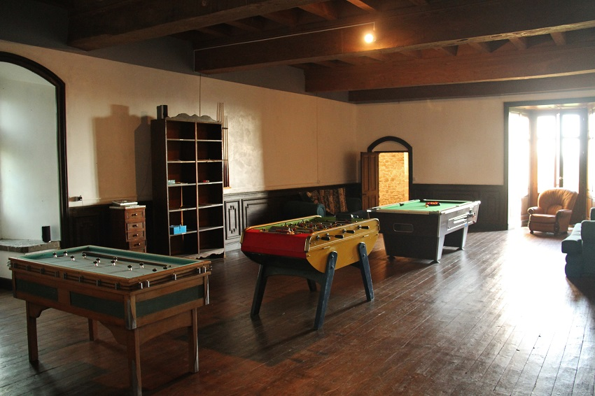French Castle with games room